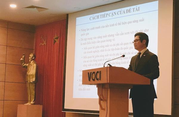 TS Vũ Tiến Lộc- Chủ tịch Phòng Thương mại và Công nghiệp VN (VCCI)